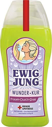 Andrea Verlag Spaß Duschbäder Duschgel Shampoo zum Geburtstag Geschenk für Männer Frauen (Ewig Jung 33003)