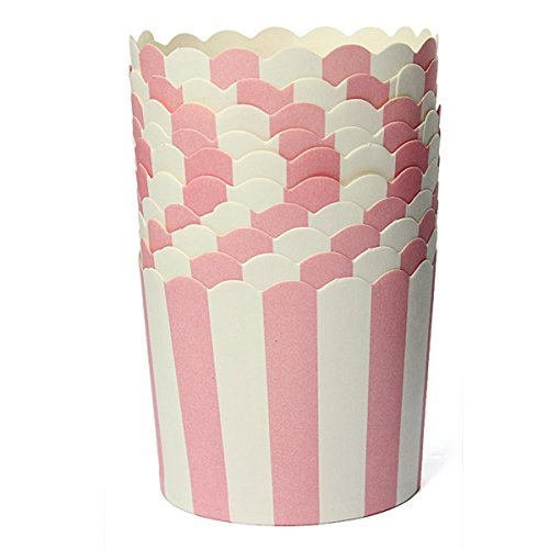 sky-ii 50x Cupcake envoltorio de papel para funda para cupcakes male