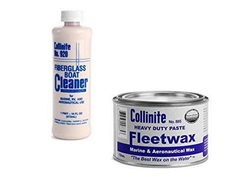 collinite-920-fiberglass-boat-cleaner-885-fleetwax-paste-combo-pack-by-collinite