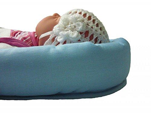 Sweet Baby ** LIMETTE GRÜN ** SOFTY Sitzverkleinerer / NeugeborenenEinsatz für BabyAutositz Gr. 0/0+ wie z.B. Maxi Cosi, Römer etc. - 3