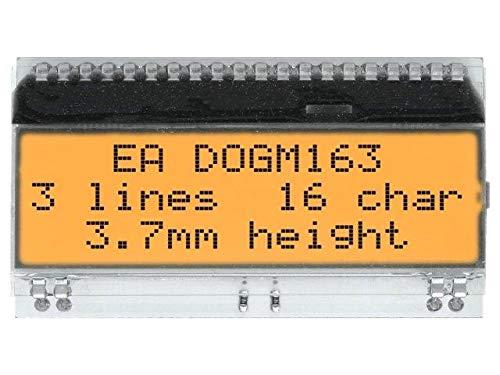 EADOGM163W-A Display LCD alphanumeric FSTN Positive 16x3 white Fstn-display