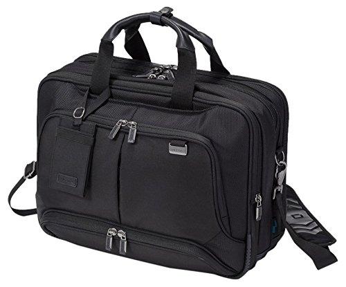 Dicota Top Traveller Twin PRO 14-15.6 (Frame Leder-schulter-tasche)