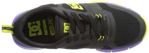 DC UNILITE FLEX TR J PUR ADJS700004, Sneaker Donna Nero (Schwarz (BLK/FLRSNT))