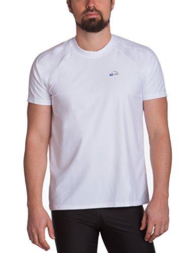 IQ-Company Herren UV Kleidung 300 Shirt Loose Fit, White, L, 6481222100-42L