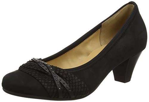 Gabor Shoes 45.481 Damen Pumps, Schwarz (37 schwarz),, 40 EU ( 6.5 UK ) -