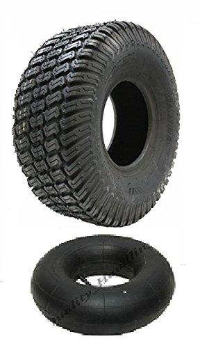 Eine neue - 13x5.00-6 4000 Rasen Rasenmäher Reifen und Tube 13 500 6 Reifenfahrt auf Rasenmäher