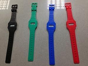 OROLOGIO in silicone stile CASIO, Silicon Watch CASIO style, Vintage vari colori da CriCri World