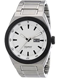 Esprit - A.ES101971004 - Montre Homme - Quartz Analogique - Bracelet Acier Argent