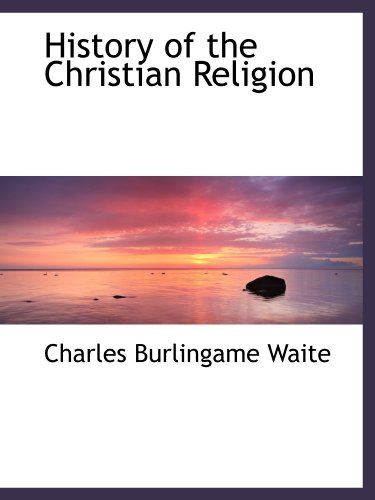 History of the Christian Religion