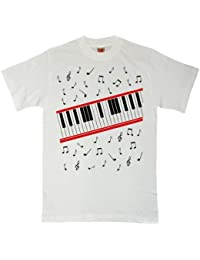 8Ball Originals - Hommes T Shirt - Beat It Piano