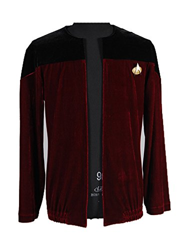 Denim Jacke Kostüm - Elecos Star Trek TNG Captain Jean-Luc