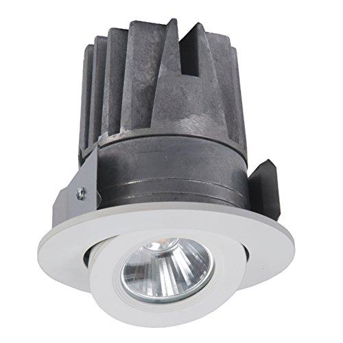 Gimbal Gehäuse (Halo elg406927wh LED Light Engine für h457LED Gehäuse-Gen2, 2700K, 10,2cm White Gimbal Trim)