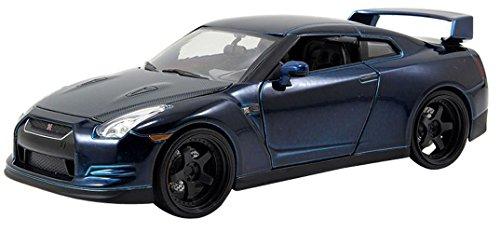 Unbekannt Fast & Furious Modellauto aus Metall - Brian\'s Nissan GT-R (R35) - Länge 20 cm