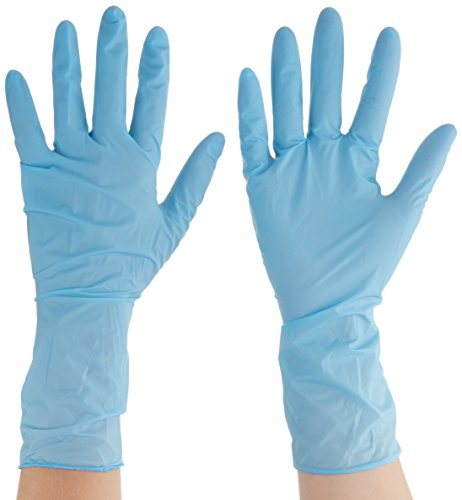 ansell-touchntuff-92-665-guanto-in-nitrile-protezione-contro-le-sostanze-chimiche-e-liquide-blu-tagl