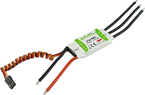 YUKI MODEL 4100235 - Wasabi Eco BL-ESC 35A BEC 2A, Funktions- und Standmodellbau