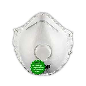 5 st ck p2 atemschutz masken mundschutz gegen pflanzenschutzmittel spr hnebel staub. Black Bedroom Furniture Sets. Home Design Ideas