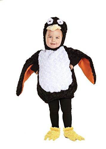 Halloween Kostüm Party Kleidung Festival Fasching Karneval Cosplay Retro Mode Fun Kinder Cute Niedlich Kostüm Pinguin Kleinkind (Bodysuit + Kapuze + Schuhabdeckungen) - Kindergröße 2-4