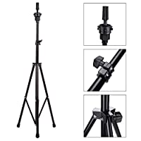 Blusea Adjustable Metal Tripod Stand Holder Hairdressing Training Head Mold Wig Mannequin Stand