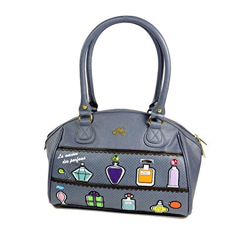 Hoy Bolso de Mujer–Clara–La Maison Des Parfums–ecopiel Fashion Bag Gris