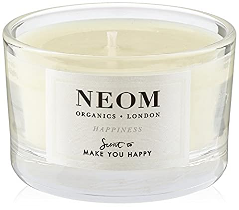 Neom Organics London Happiness Scented Travel Candle 75