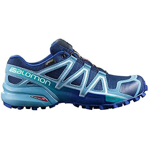Salomon Speed Cross 4GTX traillaufschuhe, dunkelblau / blau, 10.5 UK - 45.1/3 EU
