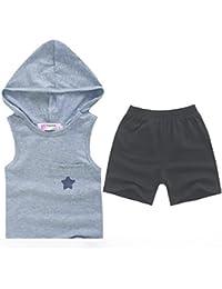 Koly 1PC niños Primavera verano Moda Vestir sistemas de la ropa