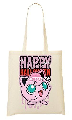 y Halloween Funny Bat Pokemons Pokeball Tragetasche Einkaufstasche (Halloween Eve 30.)