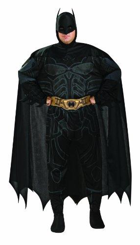 The Dark Knight Rises - Lizenziertes Batman-Kostüm - Erwachsene - Größe (Dark Knight Rises Cape)