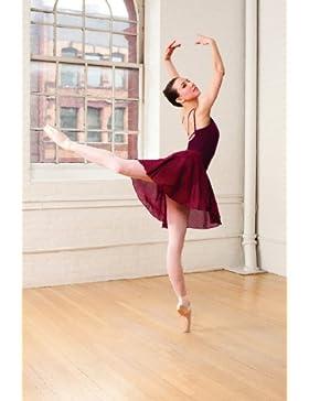 Falda de ballet Capezio 260 2 colores para adultos