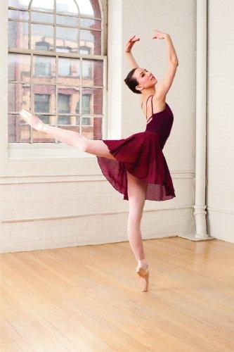 capezio-ballet-e8130-rock-260-2-colores-para-adultos-rojo-burdeos-talla-unica