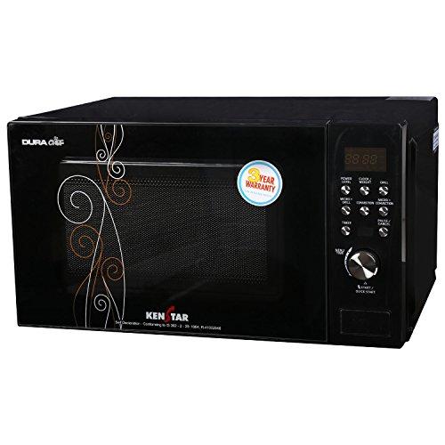 Kenstar KJ20CBG101 20-Litre Convection Microwave Oven (Black)
