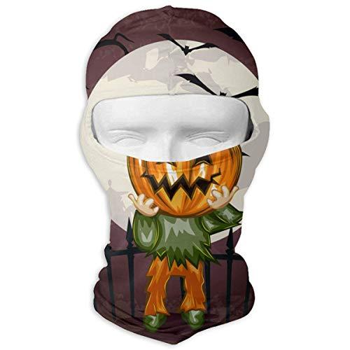 (Jxrodekz Balaclava Halloween Pumpkin Motorcycle Face Masks Windproof Ski Mask Sports Balaclava)
