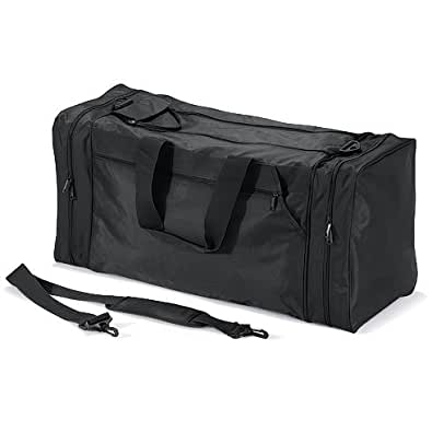 Quadra - sac de sport / voyage 74 L - QD80 - JUMBO SPORTS BAG - coloris noir pbVfynvG