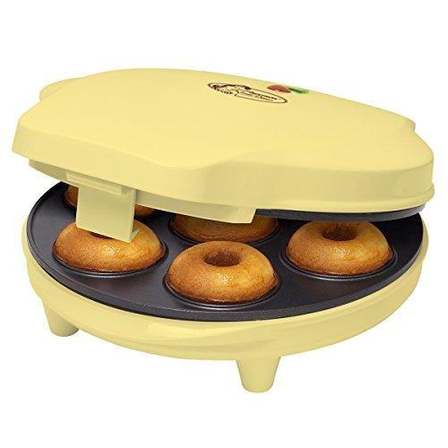 Bestron ADM218SD Donut Maker für 6 Donuts
