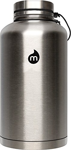 Mizu V20 w Stainless Steel Lid Flask One Size Stainless w Black