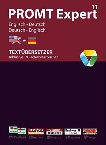 PROMT Expert 11 Englisch-Deutsch: Übersetzungssoftware Englisch <-> Deutsch für Übersetzer und Übersetzungsbüros. Arbeitsoptimierung, automatische ... Microsoft® Office Integration.