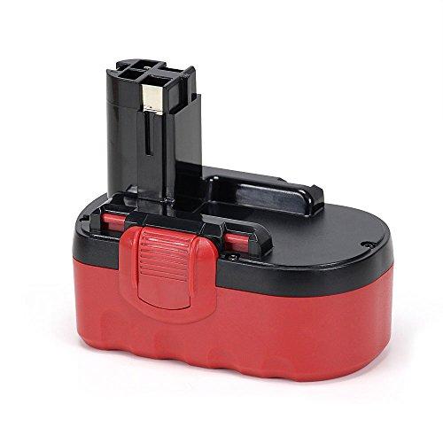 POWERGIANT 18V ersatzen batería 3000 mAh NiMH batería de batería de taladro para Bosch PSR 18 VE-2 BAT025 BAT026 BAT160 BAT180 BAT181 2607335278 2607335535 2607335536 etc