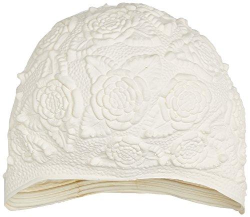 Beco Latex-Ornamenthaube Badehaube, Weiß, One Size