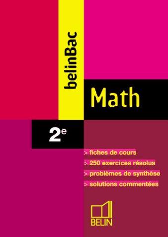 Math 2nde