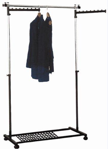 Fahrbarer Garderobenwagen Rollgarderobe Kleiderständer