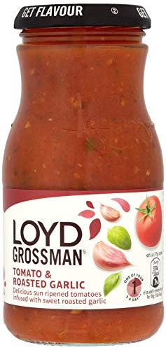 Loyd Grossman Tomato and Roastedgarlic Sauce, 350g