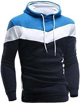OverDose La chaqueta de la chaqueta de las tapas de la sudadera con capucha de la manga larga retro de los hombres...