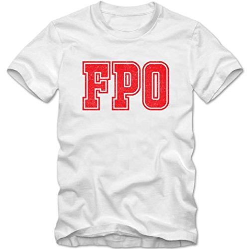 FPO Premium T-Shirt | Airport-Shirt | Freeport -Bahamas | Reisen | Herren | Shirt © Shirt Happenz Weiß (White L190)