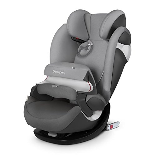 Cybex Gold Pallas M-fix, Autositz Gruppe 1/2/3 (9-36 kg), Kollektion 2017, manhattan grey, mit Isofix
