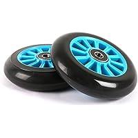 100mm Stunt Scooter Wheels + ABEC9 // Fit TBF Slamm Razor MGP Grit JD Bug