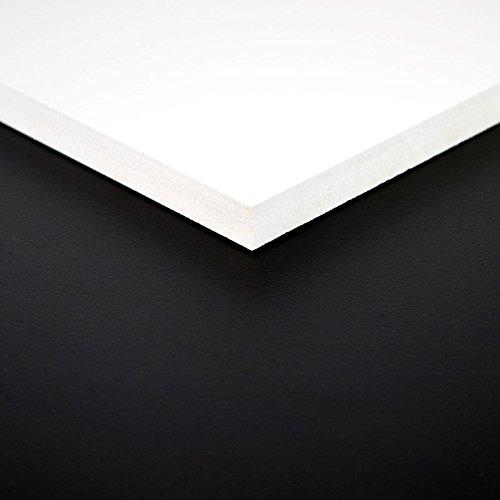 3mm FOREX® Platte 100x70 cm weiß PVC Hartschaum