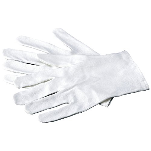 Carex Health Brands Soft Hands Baumwollhandschuhe, Größe S/M