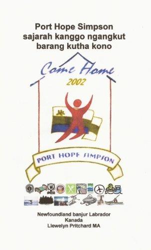 Port Hope Simpson sajarah kanggo ngangkut barang kutha kono (Port ...