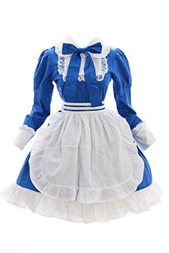 Kawaii-Story JL-637 Blau APH Hetalia Hungary Maid Anime Zofe Zimmermädchen Gothic Lolita Kleid Set Kostüm Cosplay (EUR ()