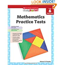 Scholastic Study Smart 06: Mathematics Practice Tests